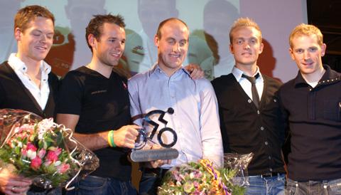 De nominerede til årets cykelrytter fundet