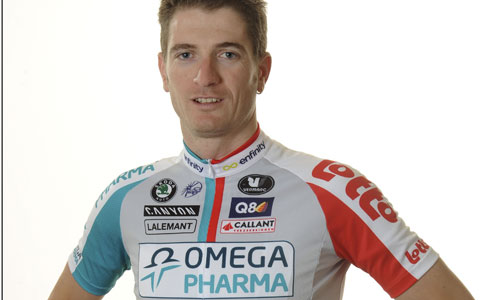 Photo: Frederik Willems has ended his active career with immediate effect. Next year e will become a sports director at his current Lotto-Belisol team.