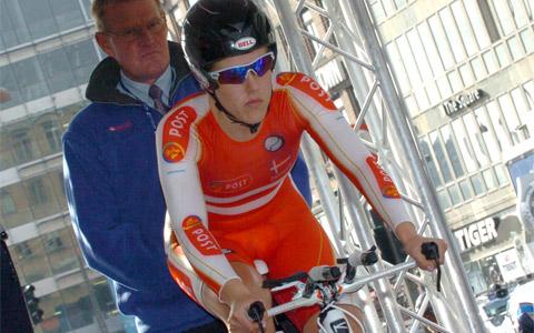 VM-deltager til BikeToyz