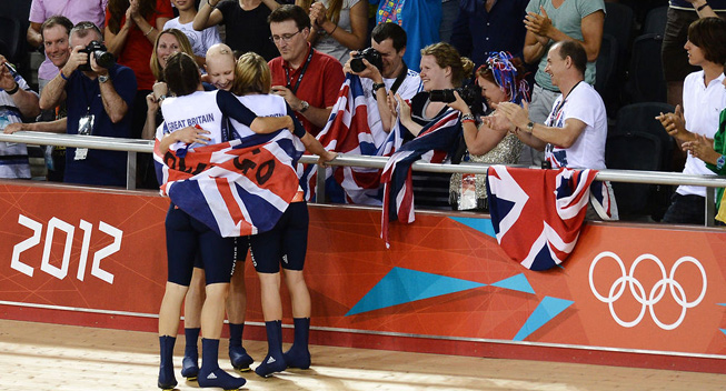 London2012 bane Dani King Laura Trott Joanna Rowsell
