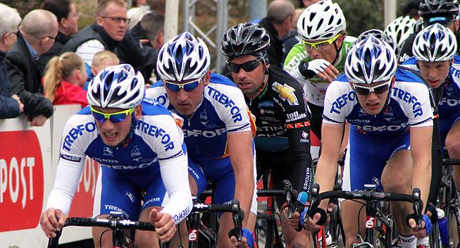 Team Tre-For går efter mere succes i morgen