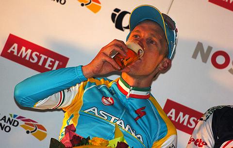 Amstel2012 Enrico Gasparotto podiet