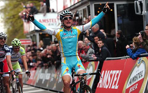 Amstel2012 Enrico Gasparotto sejr