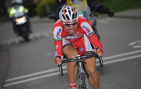 Amstel2012 Oscar Freire angreb 2