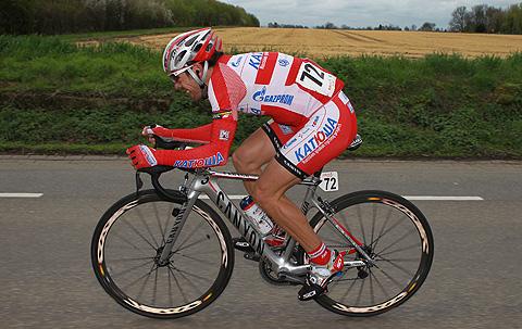 Amstel2012 Oscar Freire angreb 3