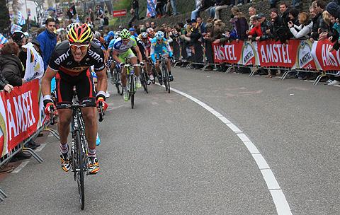 Amstel2012 Philippe Gilbert angreb