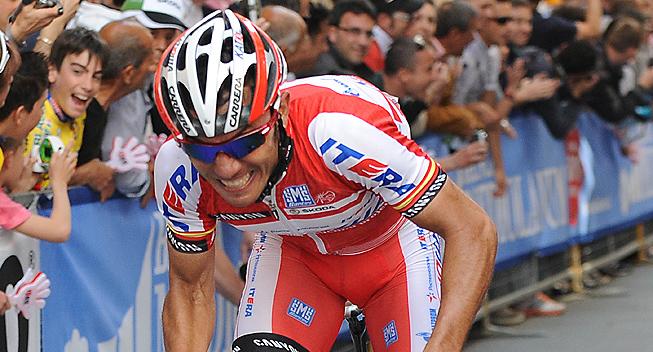Giro2012 10 etape Joaquim Rodriguez Olivier angreb