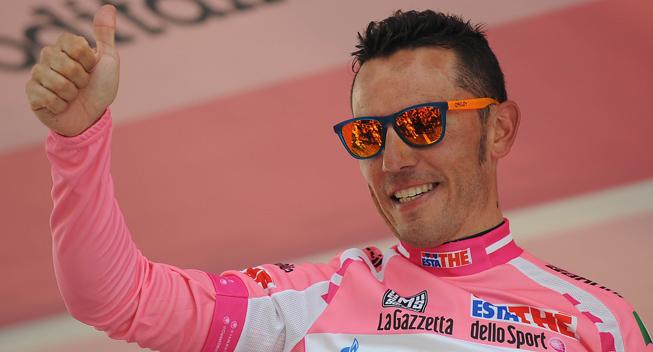 Giro2012 10 etape Joaquim Rodriguez Olivier maglia rosa