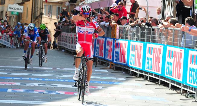 Giro2012 10 etape Joaquim Rodriguez Olivier sejr