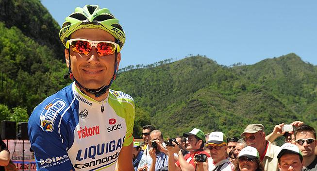 Giro2012 12 etape Ivan Basso prestart
