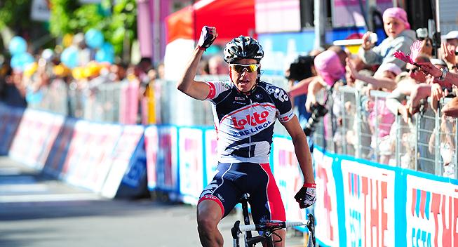 Giro2012 12 etape Lars Bak sejr