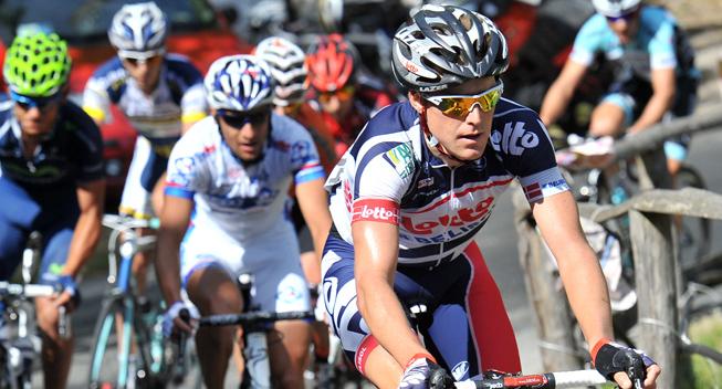 Giro2012 12 etape Lars Bak udbrud