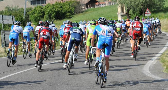 Et minuts stilhed inden Giro-start