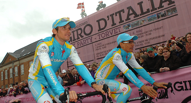 Giro2012 Team Presentation Astana Roman Kreuziger