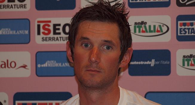 Giro2012 praesentation Frank Schleck