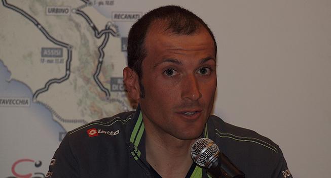 Giro2012 praesentation Ivan Basso