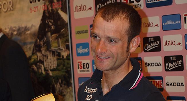 Giro2012 praesentation Michele Scarponi