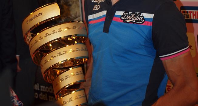 Giro2012 praesentation Trofaeet