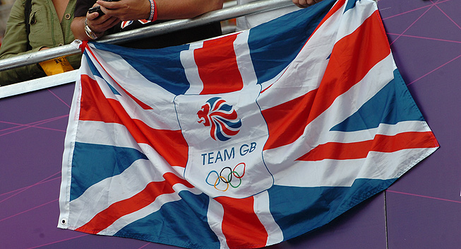 OL London 2012 flag GB