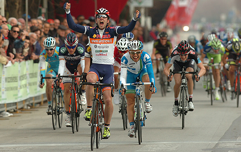 Photo: I'm up for contract and looking for a new team as Lampre-Merida will not keep me for next year.