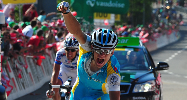 Photo: Tanel Kangert has told PEZ Cycling that he wants to be a part of the Astana Giro d'Italia squad and he spoke about what it was like helping Vincenzo Nibali win the Tour de France.