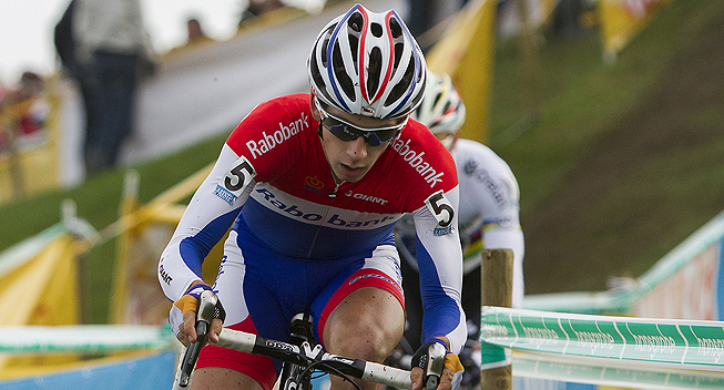 Photo: Lars Van der Haar maintained his lead in the UCI rankings.