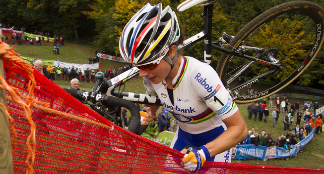 Photo: After the World Cup Cross in Namur, Vos will start in the World Cup cross at Heusden-Zolder.