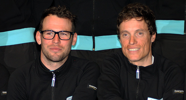 Mark Cavendish Sylvain Chavanel