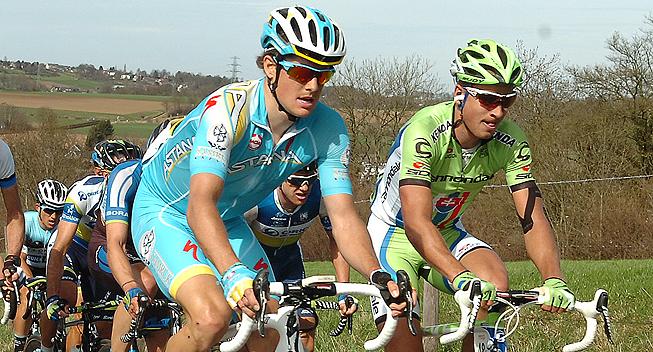 Amstel2013 Jakob Fuglsang og Peter Sagan
