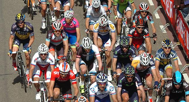 Amstel2013 peloton