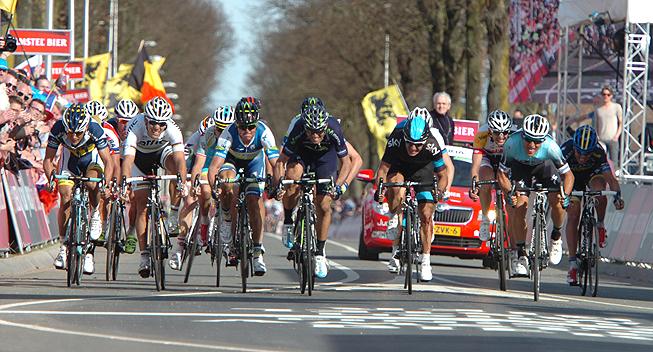 Amstel2013 spurt om andenpladsen