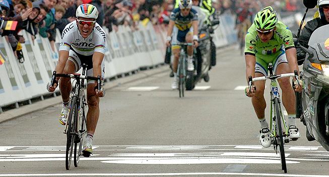 Brabantse Pijl 2013 Peter Sagan og Philippe Gilbert spurt