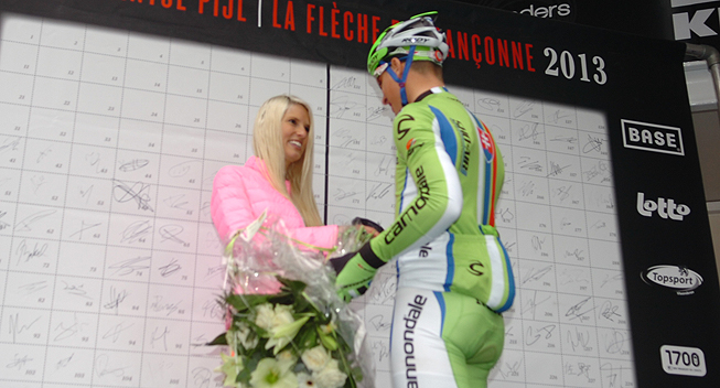 Brabantse Pijl 2013 Peter Sagan siger undskyld