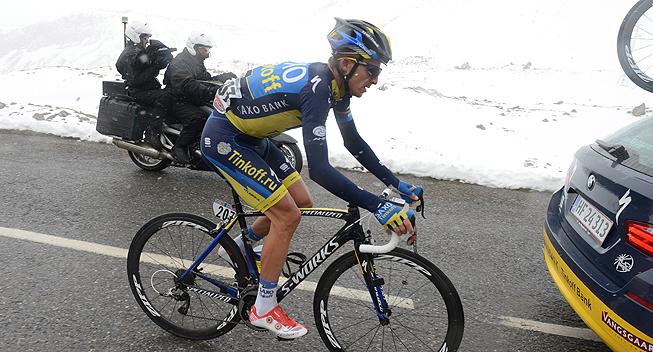Giro2013 15 etape Evgeni Petrov