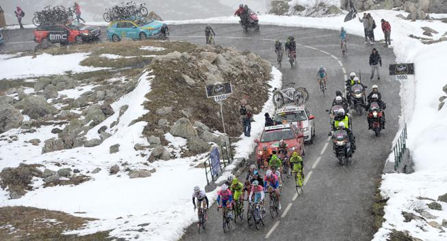 Giro2013 15 etape Favoritgruppen Galibier
