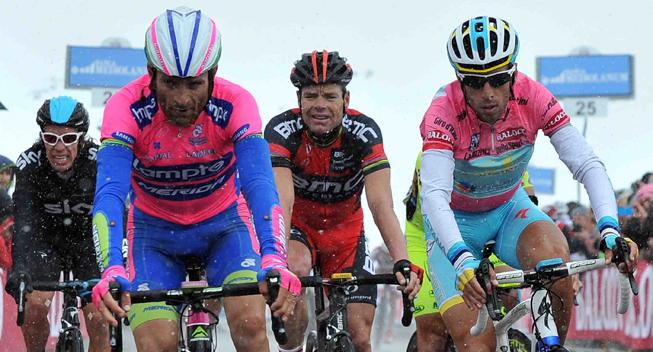 Giro2013 15 etape Favoritterne Galibier