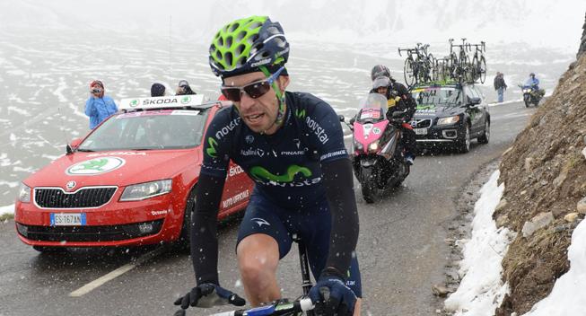 Giro2013 15 etape Giovanni Visconti angreb