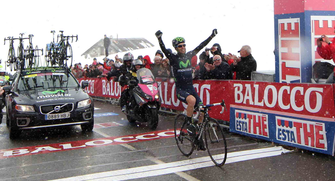 Giro2013 15 etape Giovanni Visconti sejr Galibier