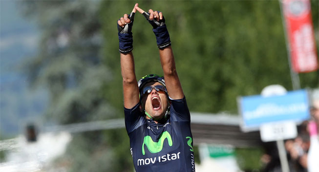 Photo: Anton, Intxausti and Moreno still in contention after another aggressive showing by Movistar.