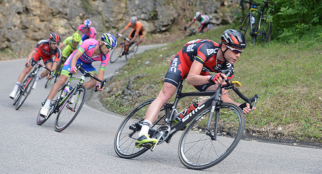 Giro 17 etape Cadel Evans