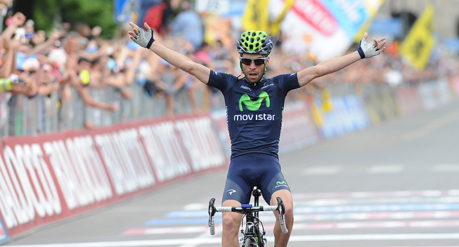 Giro 17 etape Giovanni Visconti sejr