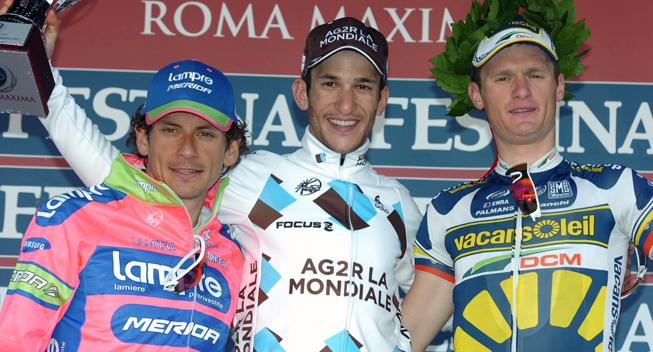 Roma Maxima 2013 Filippo Pozzato Biel Kadri Grega Bole podiet