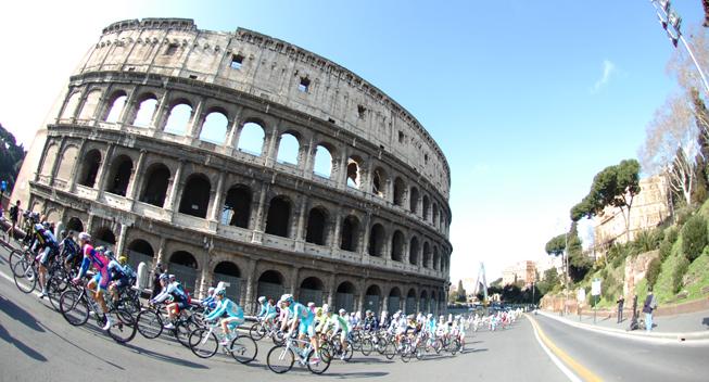 Roma Maxima 2013 peloton