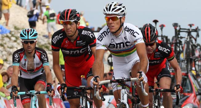 TdF2013 15 etape Cadel Evans gruppe