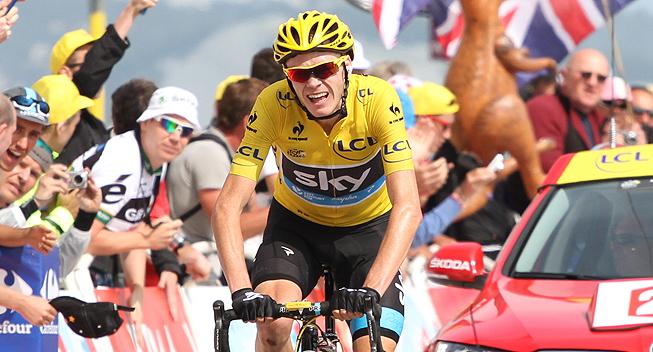 TdF2013 15 etape Chris Froome angreb