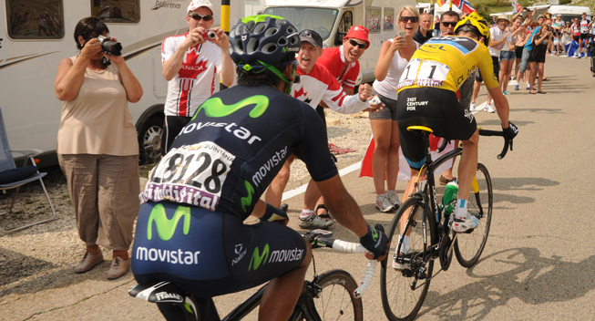 TdF2013 15 etape Chris Froome og Nairo Quintana