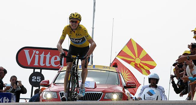 TdF2013 15 etape Chris Froome sejr
