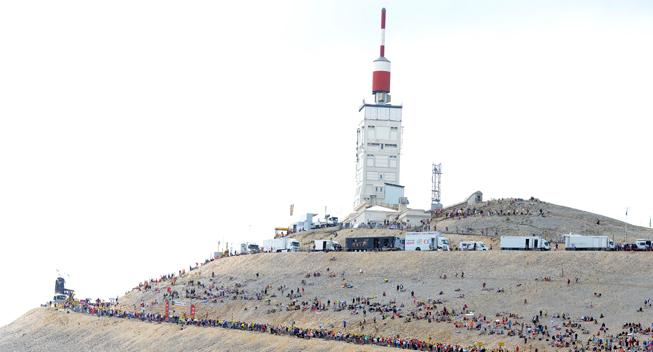 TdF2013 15 etape Mont Ventoux summit