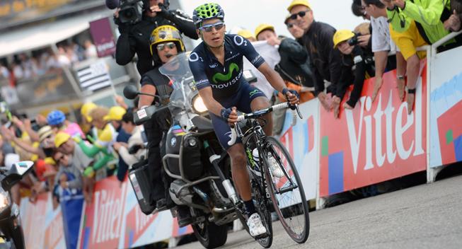 TdF2013 15 etape Nairo Quintana