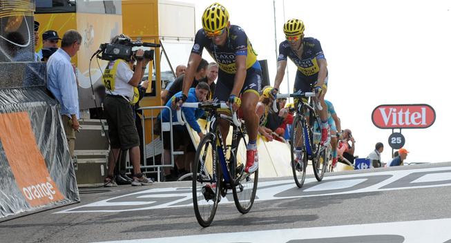 TdF2013 15 etape Roman Kreuziger og Alberto Contador